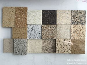 Kefeng-227 Building Material Granite Color Quartz Stone for Kitchen Countertop