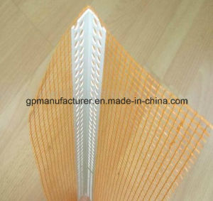 PVC Consruction Material Stucco&Plaster, PVC Profile with Mesh pictures & photos