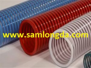 "Flexible PVC Spring Suction Hose for Pump (1""-8"") pictures & photos"