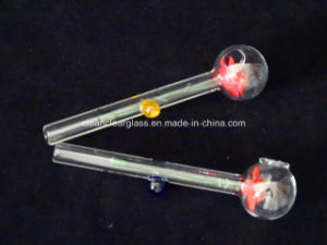 Wholsale High Quality 12cm Sweet Puff Pipes Smoking Pipes with Flower Design and Balancers pictures & photos