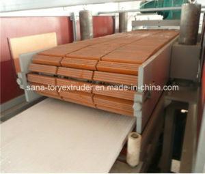 Wood Plastic Profile Production Line / Plastic Extrusion Machine pictures & photos