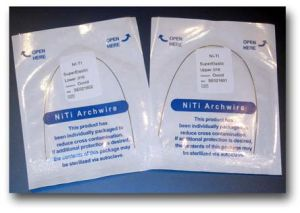 Protect Orthodontic Titanium Archwire with Promotion pictures & photos