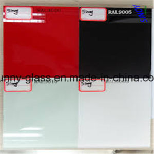 4-6mm White Painted Glass for Decoration or Building Glass pictures & photos