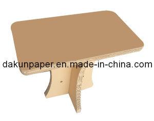 Corrugated Square Table (DKPF120720)