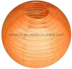 Nylon Fabric Wedding Party Birthday Round Hanging Decoration Paper Craft Lantern pictures & photos