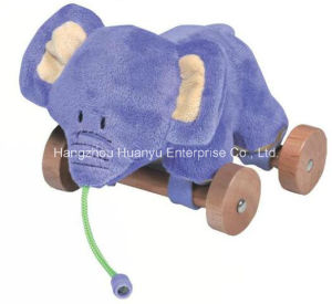 Factory Supply Infant Plush Pull Toy pictures & photos