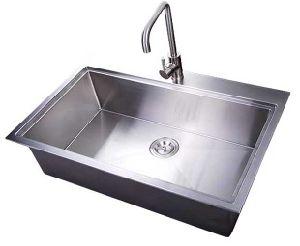 Cheaper Handcraft Popular Kitchen Sink One Basin
