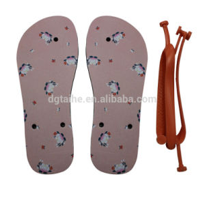 Flip Flops with Polyester on Top Sublimation Printing pictures & photos