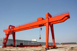 Double Girder Overhead Gantry Crane with Electric Hoist Lifting Equipment pictures & photos