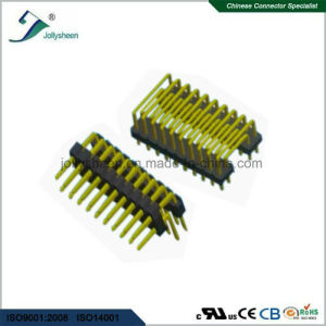 Pin Header Pitch 2.54mm Dual Row Dual  90deg U Type H2.54mm pictures & photos