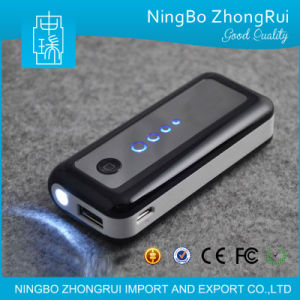 5200 Mini LED Torch Light Portable Power Bank pictures & photos