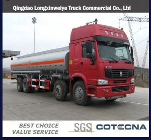 HOWO 8X4 Fuel Tanker Truck (ZZ1257M4341W) pictures & photos