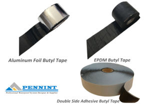 45mil EPDM Overlap Tape Butyl Tape pictures & photos