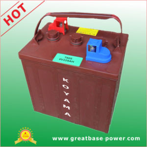AGM Battery-Deep Cycle Dry Battery -T605-6V 200ah-for Golf Carts pictures & photos