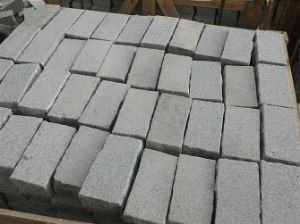 Cheap Grey Granie Sandblasted Paving Stone pictures & photos