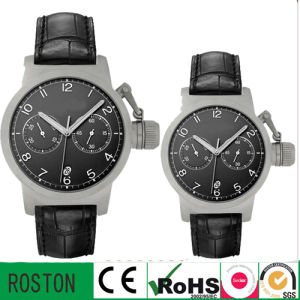 Stainless Steel Men Wristwatch Japan Quartz Sports Watch