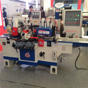 Wood Working Machinery Automatic Four Side Wood Planer Machine pictures & photos