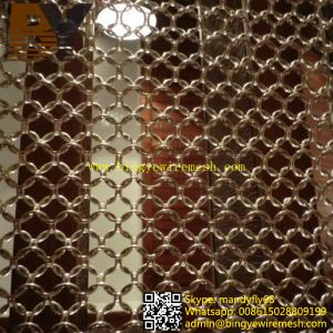Ring Wire Mesh Room Divider pictures & photos