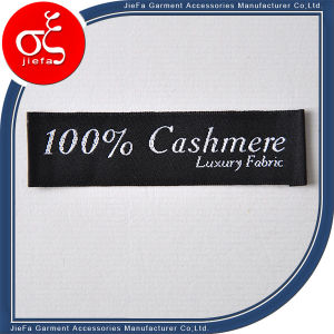 Customized Satin Clothing Woven Label for Garment pictures & photos
