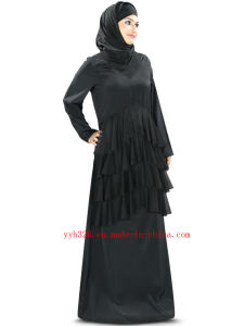 2014 Yyh Women Traditional Black Maxi Muslim Dress