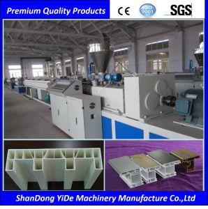 (PE, PP&Wood) Profile WPC Machine pictures & photos