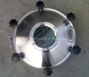 Pressure Stainless Steel Sight Glass Manhole Cover pictures & photos