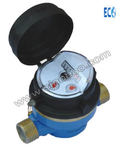 Single Jet Wet Dry Water Meter with 45 Degree Register pictures & photos
