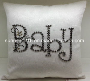 Decorative Cushion Sr-C170220-10 High Fashion Pearled Baby Cushion pictures & photos