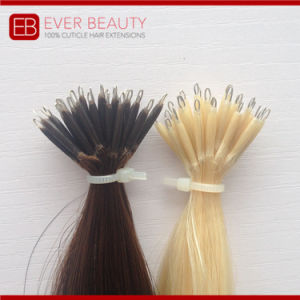 Indian Remy Hair Nano Ring Hair Extensions pictures & photos