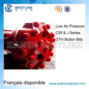 Low Air Pressure J Series DTH Button Bits for Quarrying pictures & photos