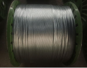 Electro Galvanized Steel Cable 1X19 pictures & photos