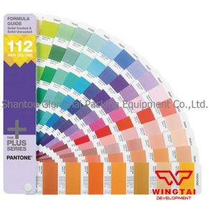112 New Pantone Solid Colors Formula Guide Cu Card Supplement Gp1601-Supl