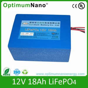 LiFePO4 Battery 12V 18ah for Golf Trolley with PCM 16holes pictures & photos