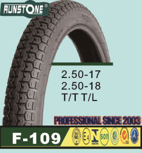 Street Standard Motorcycle Tyre 2.50-17 2.50-18 pictures & photos