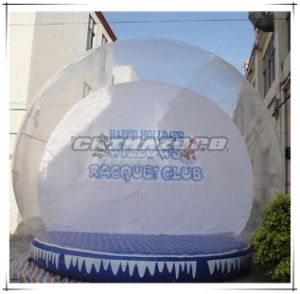Giant Size Inflatable Christmas Decotation Inflatable Snowglobe