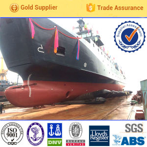 High Pressure Safety Rubber Inflatable Salvage Marine Rubber Airbag pictures & photos