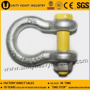 U. S Type Bolt Safety G 2130 Drop Forged Anchor Shackle pictures & photos
