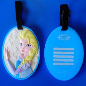 Frozen Elsa PVC Luggage Tags pictures & photos