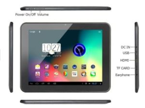 """9.7"""" D90PRO Rk3066 Dual Core Android 4.1 Android Tablet PC 16GB ROM Dual Camera HDMI WiFi Capacitive Screen"""