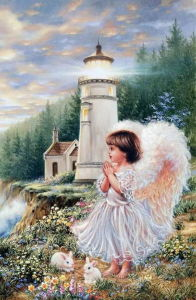 Little Girls Angel Photo Canvas Oil Painting by Numbers for Wholeasles pictures & photos