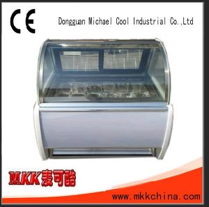 Michael Cool Hard Ice Cream Showcase/Display Case/Scooping Cabinet pictures & photos