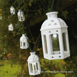 Solar Powered 10LED Moroccan Lanterns (RS1010) pictures & photos