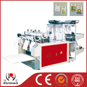 Single Line T-Shirt Bag Making Machine pictures & photos