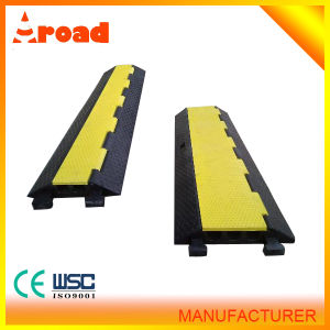 Aroad 3 Channels Rubber Cable Protector pictures & photos