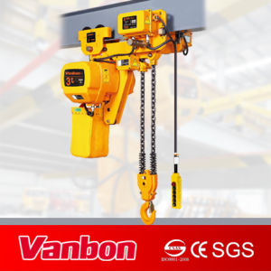 3ton Low Headroom Electric Chain Hoist pictures & photos