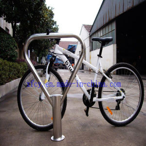 Carbon Steel Floor Mounted Parking Bike Rack (ISOapproved) (PV-BO2) pictures & photos