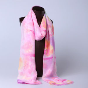 2016 Top Sale Fashion Printed Silk Scarf Ss1023