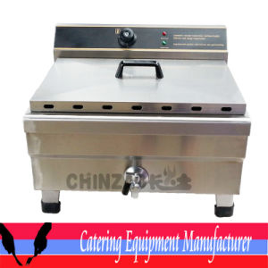 Commercial 30L Single Tank Electric Deep Fryer (DZL-26B) pictures & photos
