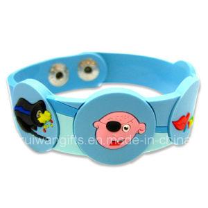 Soft PVC Bracelet Promotion Gift (BR016) pictures & photos