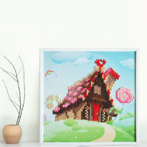 Factory Cheapest Wholesale New Children Kids DIY Embroidery Craft Cross Stitch T-138 pictures & photos